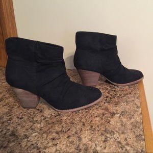 Diba black booties